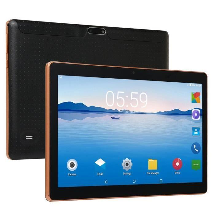 Tablette PC -10.1 pouces -Andriod 8.1 - 4G + 64G -Noir