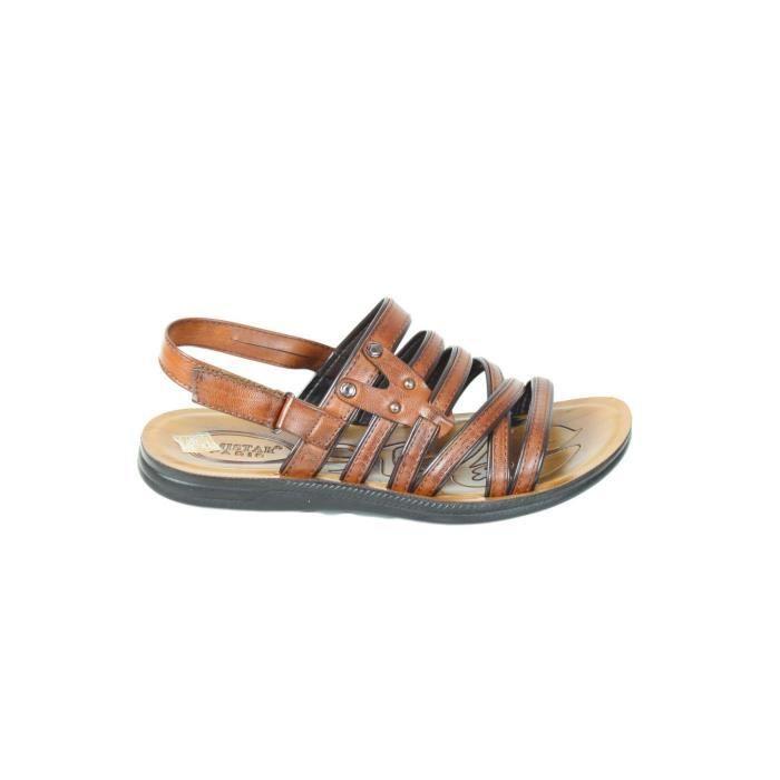 Sandales spartiates Homme Beige