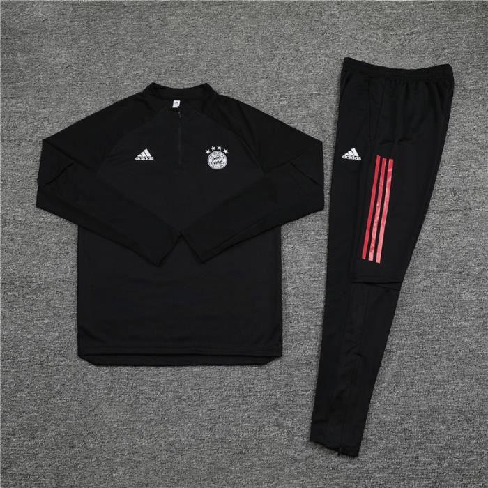 Survêtements Foot Homme Bayern Munich - Maillot Foot Enfants Garçon Homme 20-21 Survêtements Foot Maillot de Foot(Haut + Pantalon)