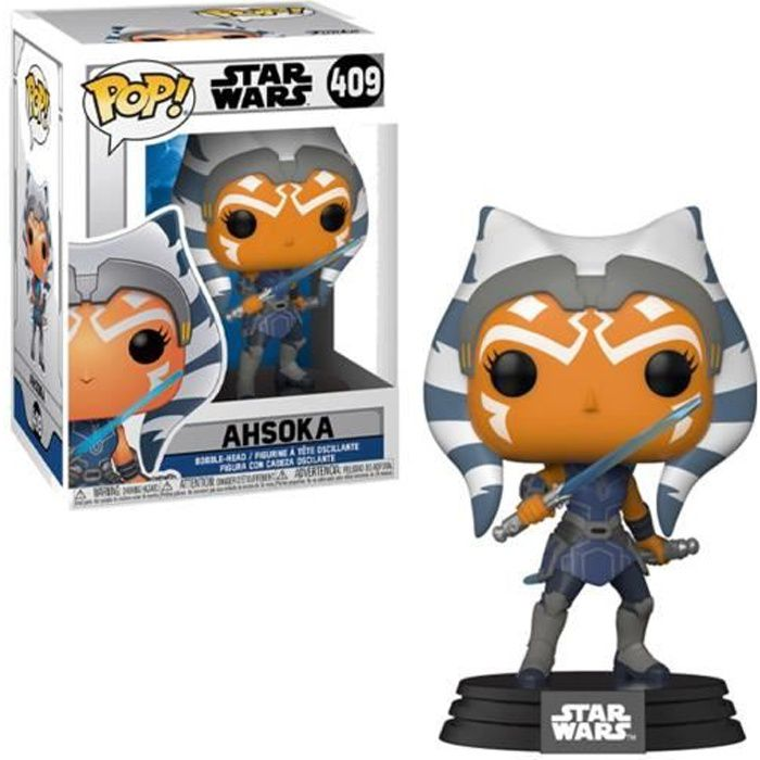 Figurine Star Wars Clone Wars - Ahsoka Pop 10cm