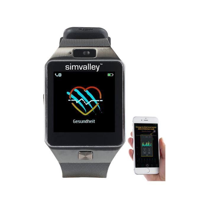 Montre-téléphone & smartwatch connectée -PW-440-
