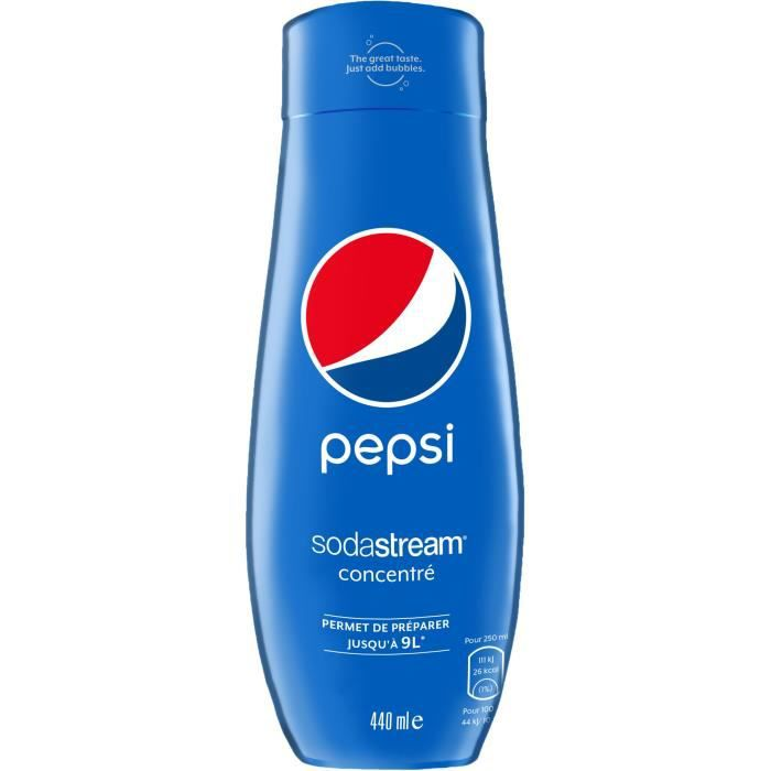 SODASTREAM Concentré PEPSI 440ml