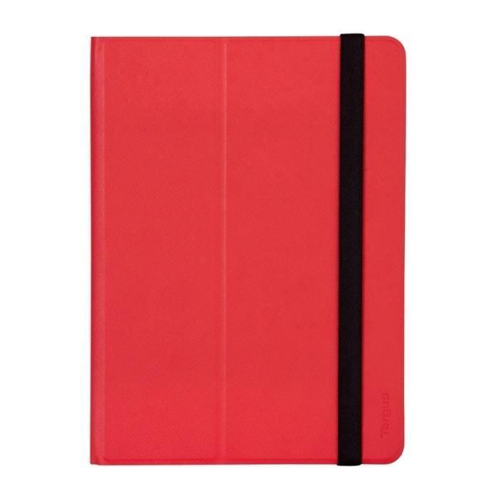 TARGUS Etui universel Foliostand pour tablette 9-10- - Rouge