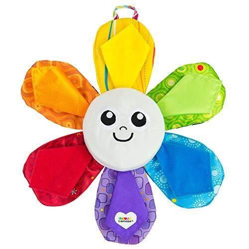 TOMY Lamaze - Ma Fleur Multicouleurs L27423, Peluche Interactive pour Bébé, Jouet Multi-Activités, Peluche Lumineuse, J L2742
