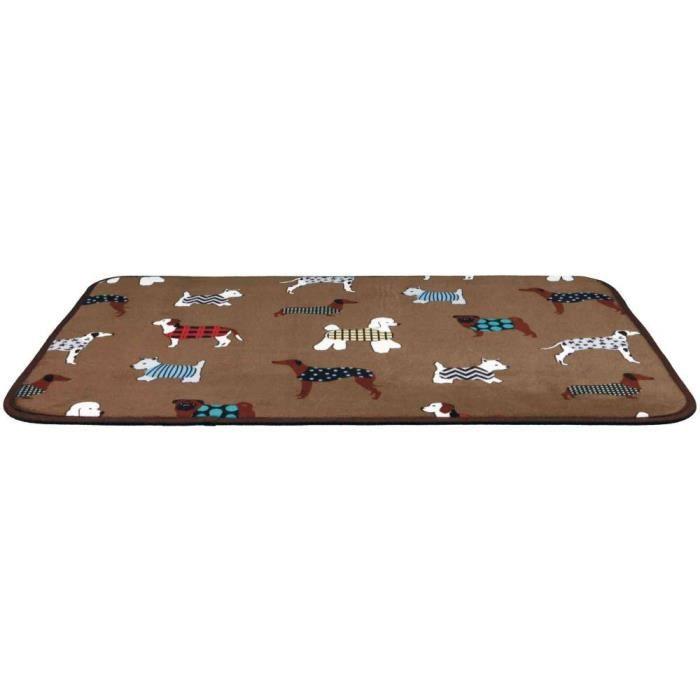 Matelas fundogs - 70 × 50 cm, brun