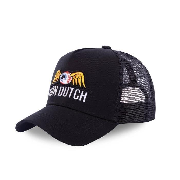 Von Dutch - Von Dutch Casquette Square Style Trucker EyePat Noir