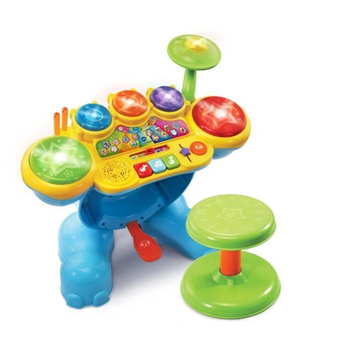 jeu apprentissage bébé VTech Rock & apprentissage du tambour
