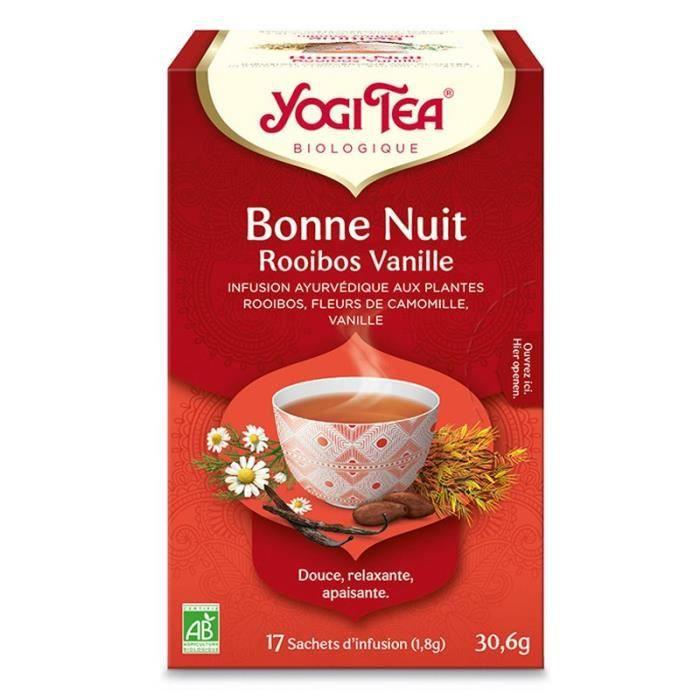 Bonne Nuit Rooibos Vanille - 17 sachets