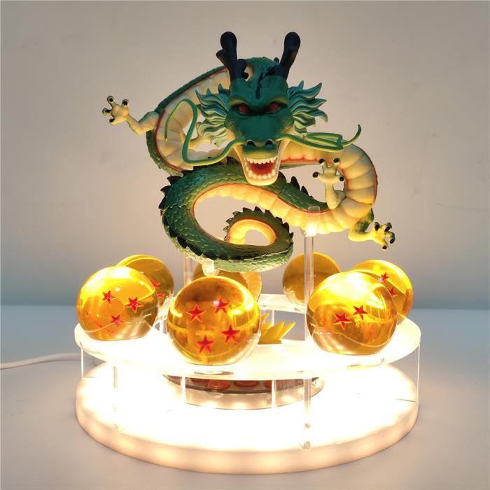 Boule de Dragon Shenron boule de cristal led bricolage veilleuse Dragon boule Z lampe USB puissance Shenlong Dragon balle Super Lamp