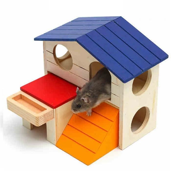 maison pour hamster achat vente maison pour hamster pas cher cdiscount. Black Bedroom Furniture Sets. Home Design Ideas