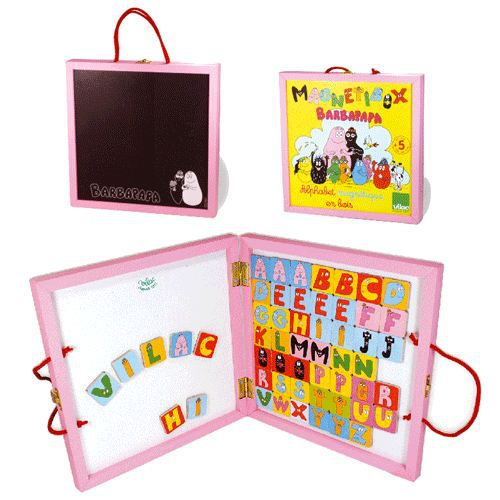 ARDOISE ENFANT Magnetibox Barbapapa