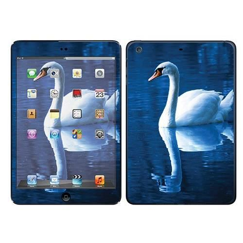 skin stickers pour apple ipad mini 2 sticker cygne prix pas cher cdiscount. Black Bedroom Furniture Sets. Home Design Ideas