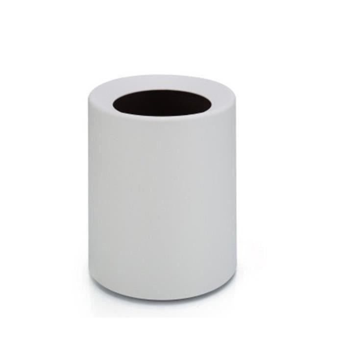poubelle en fer pour sac /à ordures blanc Mini poubelle pour bureau