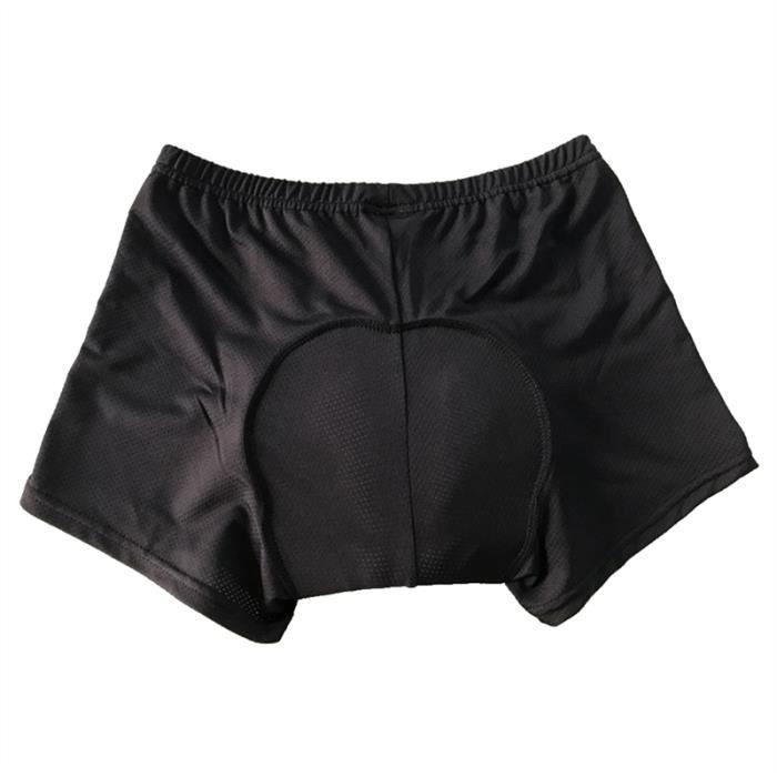 Short Vélo Equitation VTT Cyclisme Coussin gel respirant Unisexe Sous vêtement