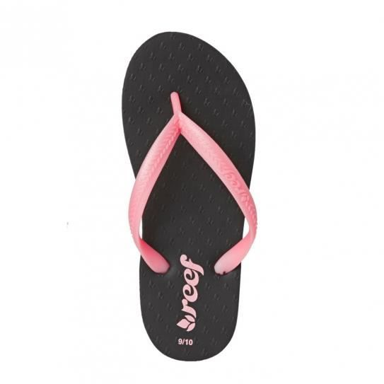 Tongs Little Chakras Black/Pink Jr - Reef