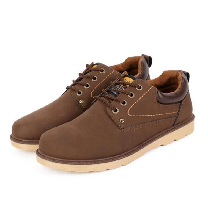 Antidérapant Chaussures Grande Taille Hommes Confortable Sneakers dBeWroCx