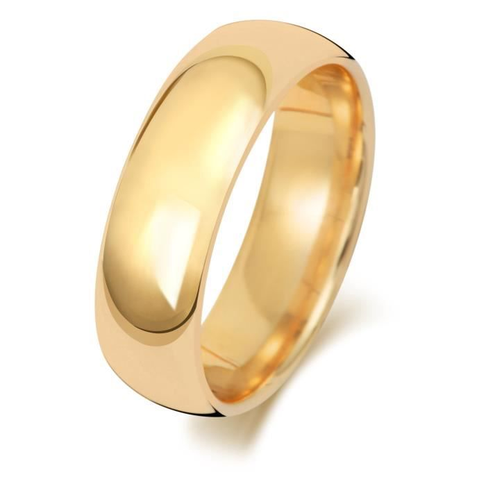 bague or 750 homme