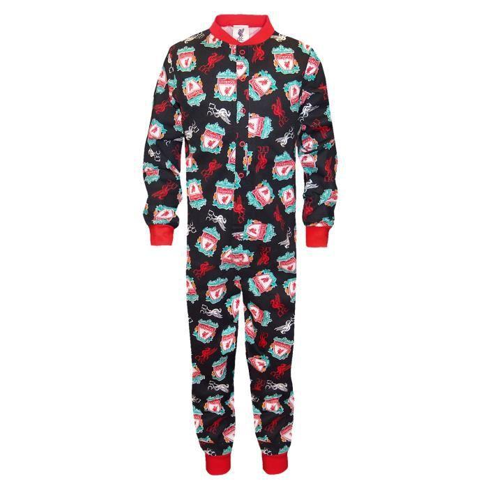 Liverpool FC officiel Combinaison de pyjama thème football enfant