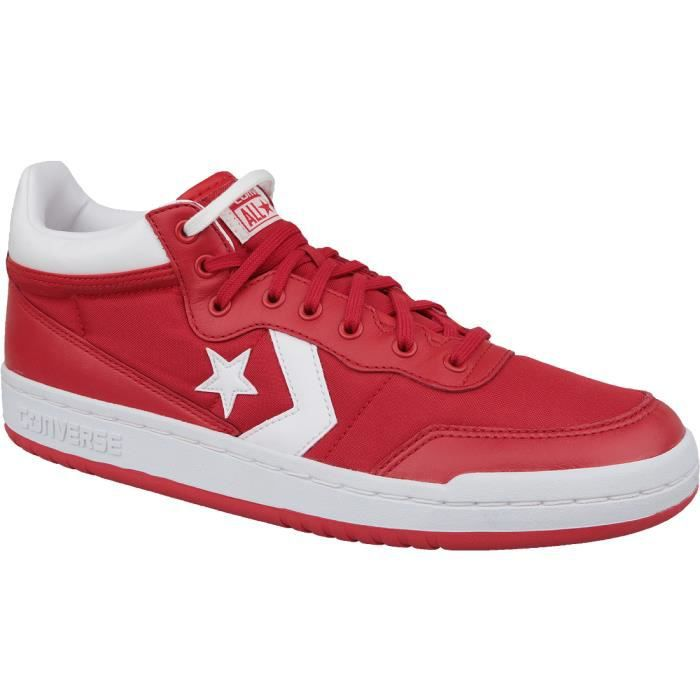 converse homme rouge