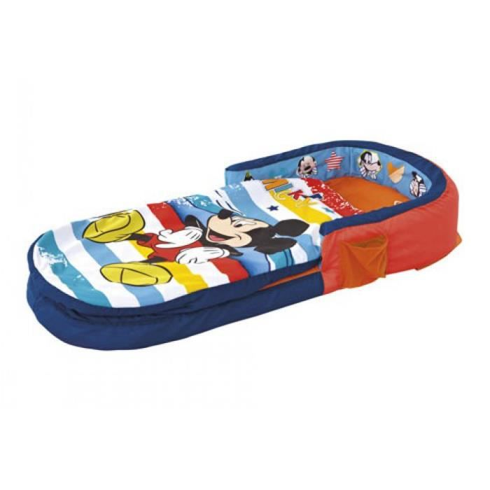 Matelas gonflable disney mickey my first 130x60 achat vente matelas b b - Matelas gonflable cdiscount ...