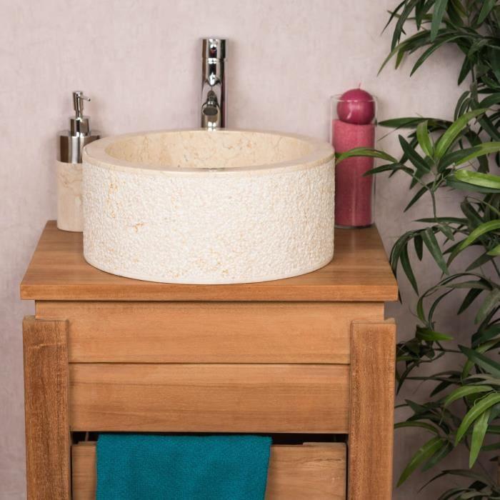 Mai /& Mai Double Lavabo Suspendu Blanc 140cm Vasque /à Poser Pour 2 /Évier Lave Mains Salle de Bain avec Trop-Plein Col830