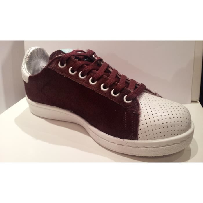 BASKET WILD PONY BORDEAUX