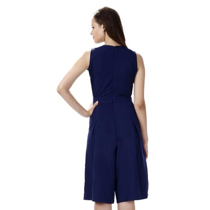 Womens Crepe Cut-out Jumpsuit EQZ5S Taille-36