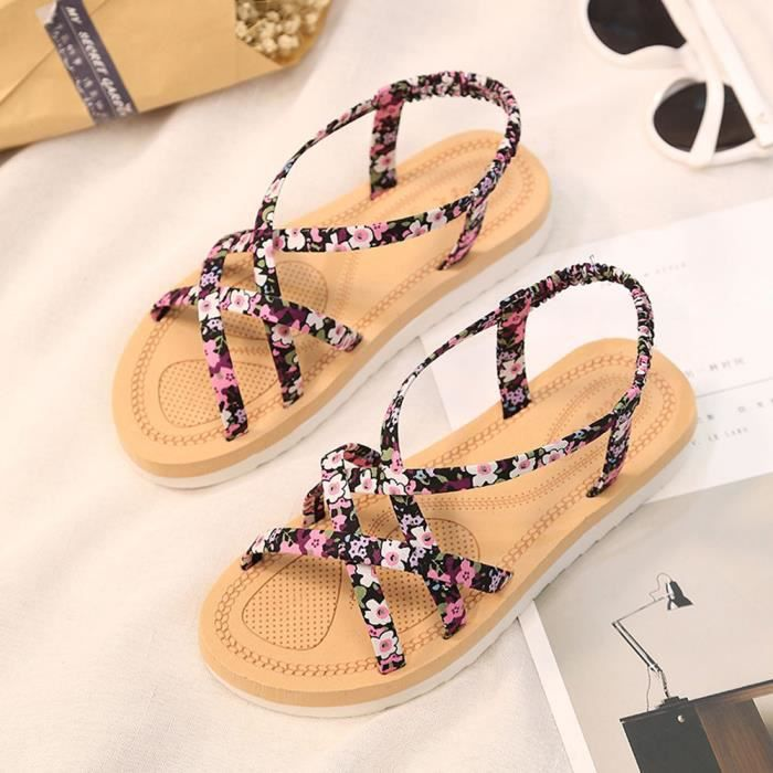 Sandals Bands Summer Flops Women Flip Flat zf1427 Fashion String Beach Shoes 1q1UOr