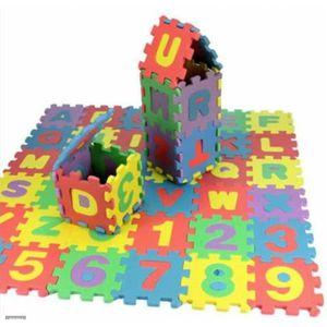 PUZZLE Puzzle tapis mousse 36 pcs 2-3 ans bébé Jeu éducat