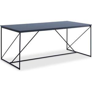 TABLE À MANGER SEULE WALTER Table à manger 8 personnes - Style industri