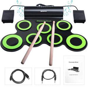 BATTERIE Batterie électronique avec Haut-parleurs Intégrés,