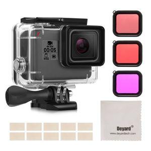 CAISSON ÉTANCHE Rncyn Boîtier étanche Kit d'accessoires pour GoPro