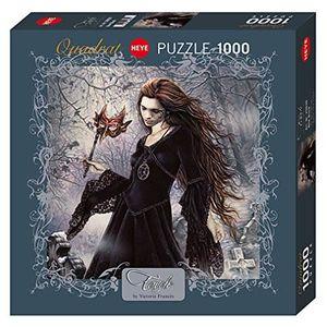 PUZZLE Heye- Puzzle New Black 1000 Pièces, 29830 29830