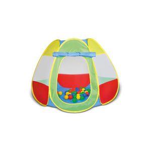 TENTE TUNNEL D'ACTIVITÉ Knorrtoys 55323, Tente, Multicolore, Garçon-Fille,