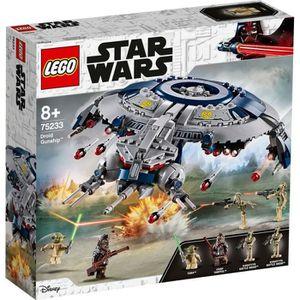 ASSEMBLAGE CONSTRUCTION LEGO Star Wars™ 75233 Canonnière droïde