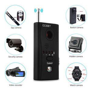 Anti-Spy Signal Bug Detector Hidden Spy Camera Lens for GSM Device Finder CC308