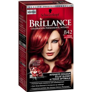 COLORATION SCHWARZKOPF Coloration N842 Brillance - Rouge cach