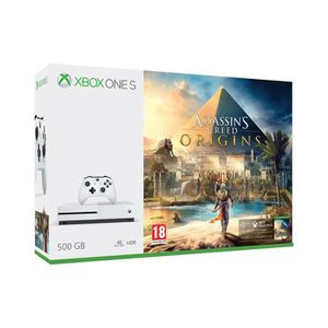 CONSOLE XBOX ONE Xbox One S 500 Go Assassin's Creed Origins