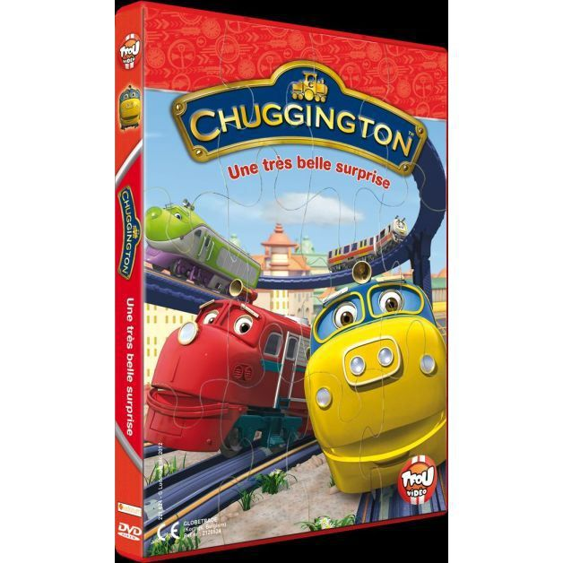 Dvd chuggington une tr s belle surprise en dvd dessin - Chuggington dessin anime ...