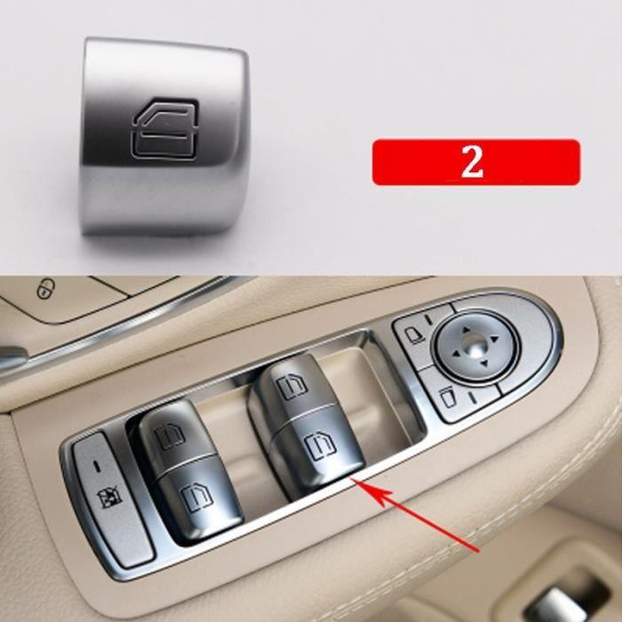Bouton de lève-vitre intérieur de voiture, interrupteur pour Mercedes Benz classe C W205 C180 C200 C260 C300 C63 W204 [96D19F8]