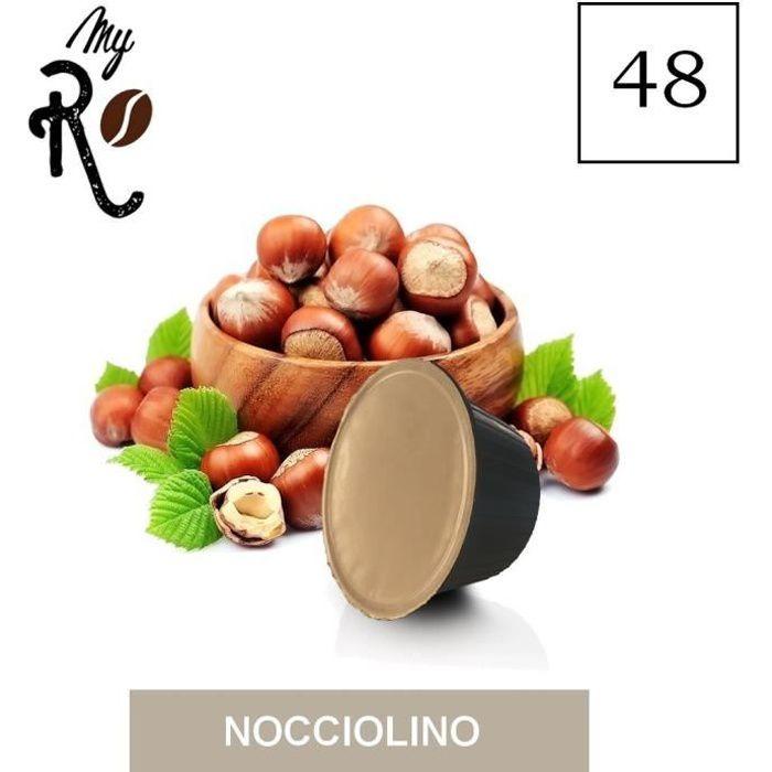 48 Capsules de Soluble Nocciolino compatibles avec machines Dolce Gusto - Dolce Gusto 48 x Dosettes - MyRistretto