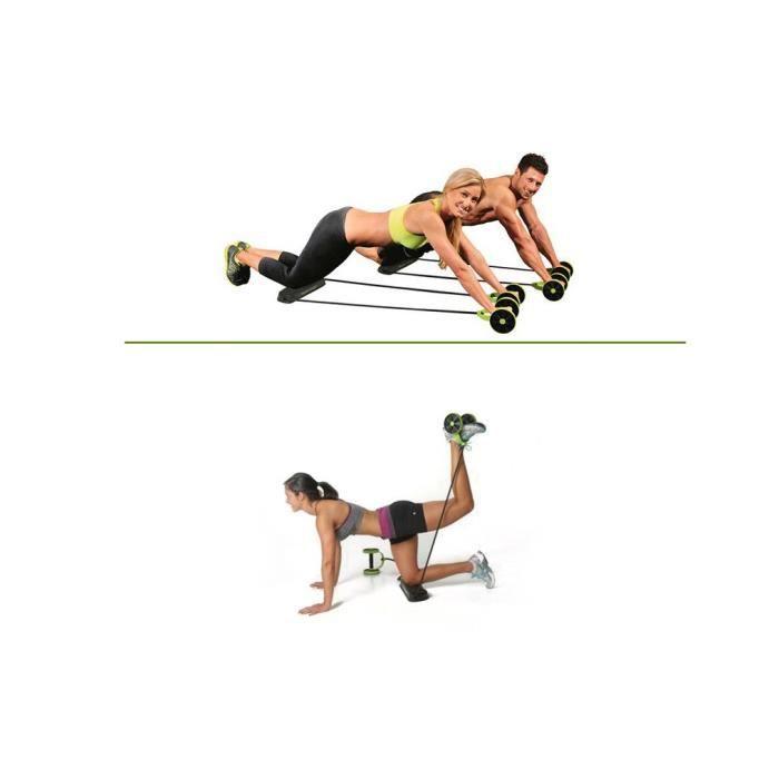 AG Roue à abdos abdominale roulette abdominaux appareil de fitness exercice