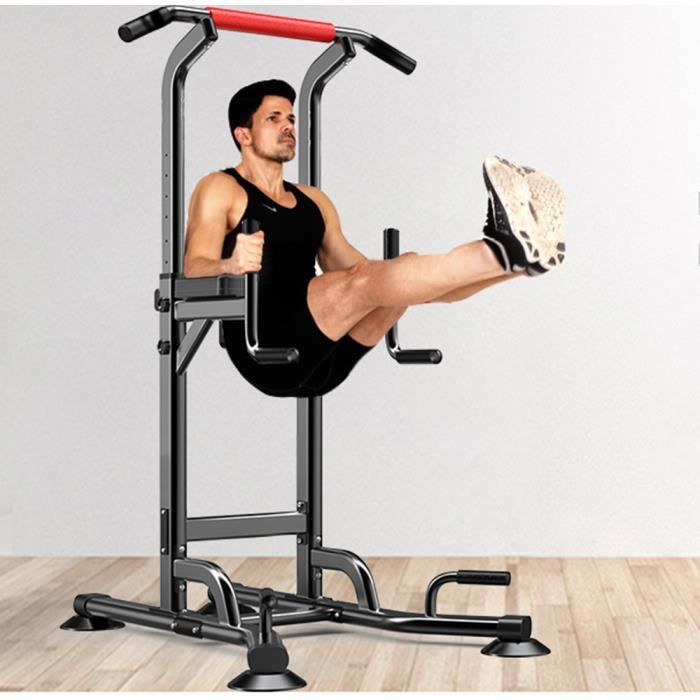YOLEO Barre de Traction Musculation Station Chaise Romaine Traction Dips