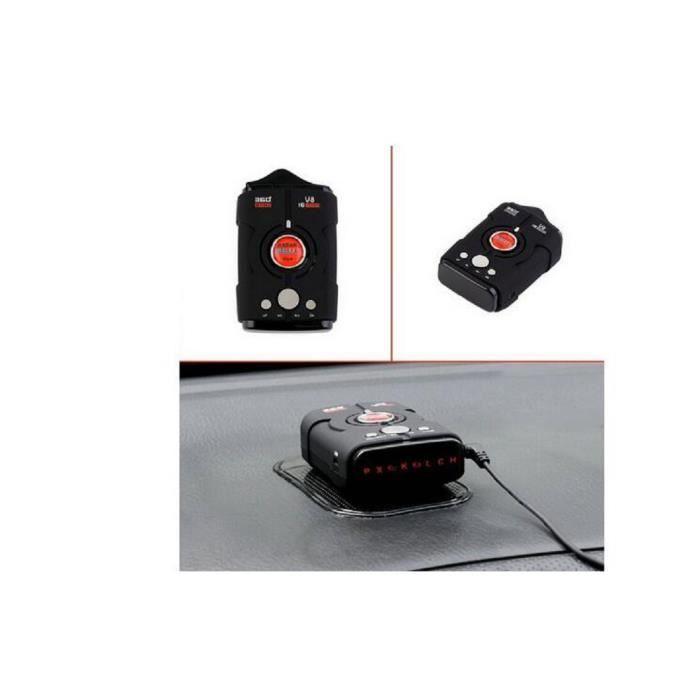 Car Radar Detector V8 Car Detector 360 degrés Bilingue Alarme Laser 16-Band LED Display K / KU / Ka / Laser / VG-2