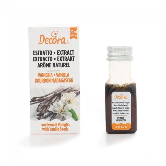 Arome naturel - Vanille Bourbon - 20 ml
