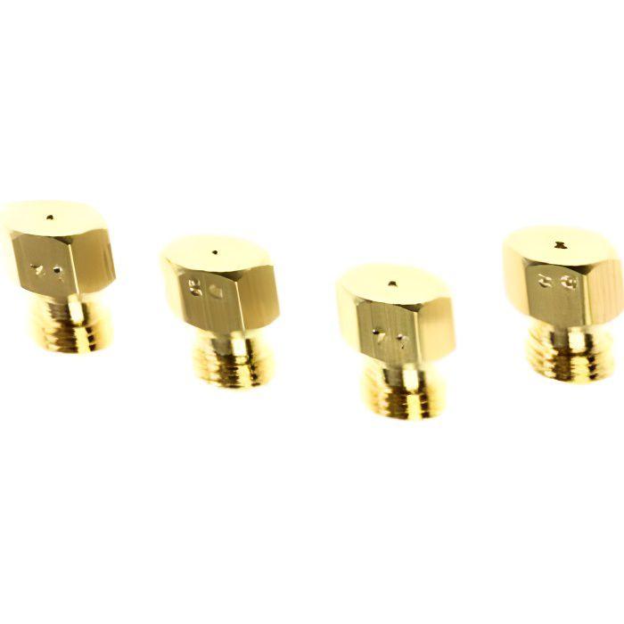 FAURE. Sachet Injecteurs Gaz Butane Pour CUISINIERE Ref 4055179768