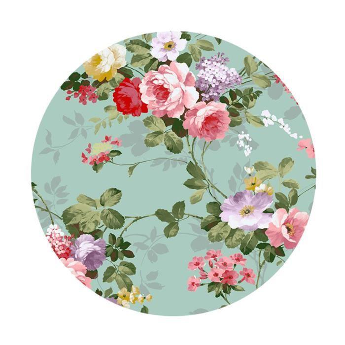 Nappe De Table en Polyester Table à Manger pour maison Café Cafe Restaurant F - 150 cm (60 pouces)