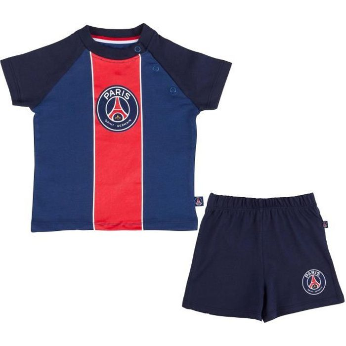 T-shirt + short PSG - Collection officielle Paris Saint Germain