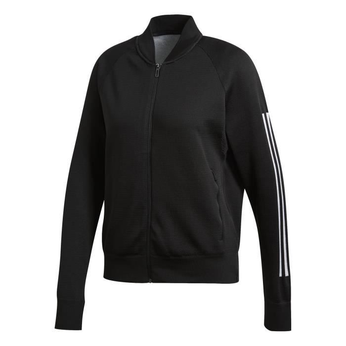 ADIDAS Sweat-shirt Multisport ID Knit Bom - Femme - Noir