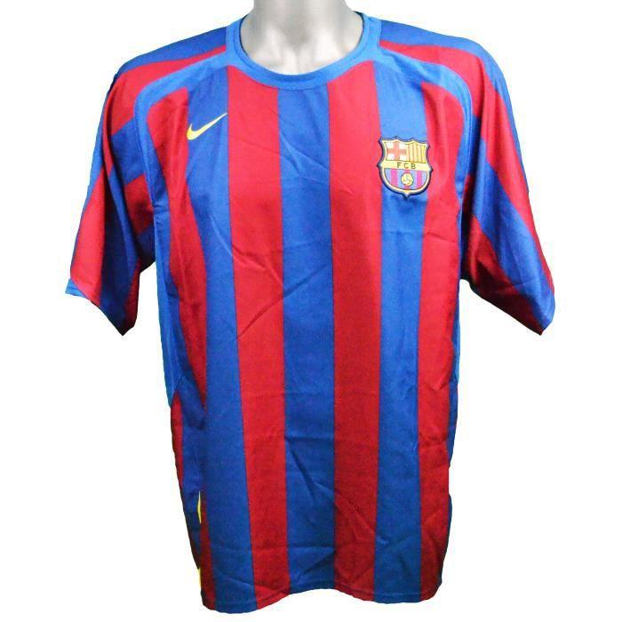 Maillot domicile FC Barcelone 2005/2006 Deco